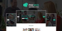 有创意的企业工作室HTML5模板Bootstrap响应式广告公司网站模板 - Premio