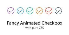 SVG动画漂亮Checkbox复选框插件_纯Css3构建的Checkbox美化效果