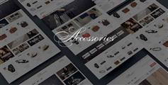 商城HTML5模板_Bootstrap鞋帽服装电商网站框架 - Accessories