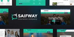 保险公司网站html模板_响应bootstrap保险公司模板 - Saifway