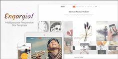 大气设计公司官网html手机网站 - Engorgio