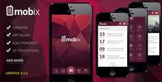 web应用程序html手机网站模板_framwork7微信网站html5模板 - Mobix