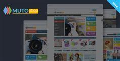 响应式Bootstrap商城模板_手机电商网站模板 - Muto
