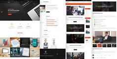 html5响应公司网站模板_大气Bootstrap企业模板 - Cooper