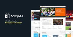教育机构Bootstrap模板_html5培训机构网站模板_学校网站html - Academia
