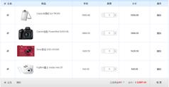 购物车js代码_JS实现购物车商品列表结算功能代码