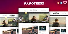 9套主页响应式个人博客html模板_适用手机博客网站模板 - Nanopress