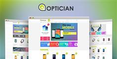 手機數碼商城Bootstrap模板_html5筆記本電腦在線電商html模板 - Optician