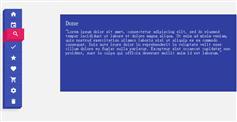 纯css3垂直3D效果导航菜单_不用js代码立体按钮选项卡菜单