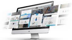 大气宽屏企业网站html模板_Bootstrap3.x响应式企业网站模板 - the8