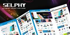 Bootstrap手机数码商城电商模板_html5响应商城模板 - Selphy