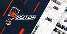 汽车零件配件商城HTML5模板_机动车零件css3网上商城电商模板 - Motor