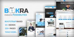 非常强大的Bootstrap响应式模板_高端大气企业网站UI框架 - BOOKRA