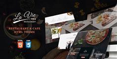 Bootstrap3餐厅咖啡店html模板_响应式咖啡店html5框架 - Lavie