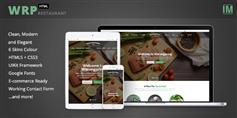 基于UIKit框架餐饮行业html模板_餐厅网站模板 - Warungpring