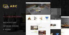 漂亮大气Bootstrap室内设计网站模板_html5装修公司官网模板 - ARC