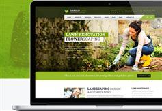 Bootstrap园艺和园林绿化HTML模板_html5响应苗木花卉电商模板 - Garden Care