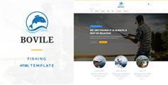 钓鱼类网站html模板_Bootstrap钓鱼技巧网站模板 - Bovile
