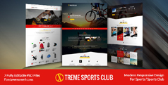 运动户外装备html模板_响应户外用品网站模板 - Xtreme