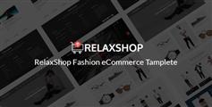 时尚电子商务html5模板_html服装商城UI模板 - Relaxshop