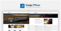 物流公司html5模板_Bootstrap物流运输企业模板 - Cargo Pifour