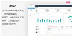 Web应用程序模板_Bootstrap4后台框架_响应crm后台模板 - Uplon