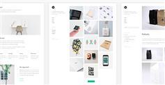 简约html图片展示网站模板_响应式个人作品展示html模板- SONEX