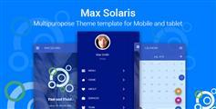 framework7手机WebApp框架博客电商社交模板20种颜色风格  - Max Solaris