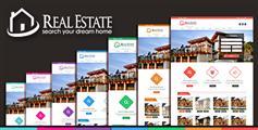 7套首页房地产html模板框架_房产中介网站HTML模板 - RealEstate