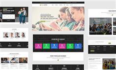 基于Bootstrap3框架HTML5教育培训学校在线课程网站模板 - EduLearn