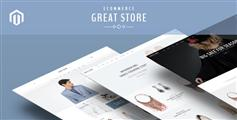 9種風格主頁BootStrap電子商務模板_HTML鞋服商城模板框架 - Great Store