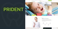 HTML牙科诊所网站模板_Bootstrap牙齿美容HTML5模板 - Prident