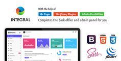 亮暗两套HTML5管理模板UI_漂亮的Bootstrap3后台系统模板 - Integral