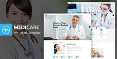 MediCare - 牙医网站HTML5模板_医疗网站UI设计自适用手机端HTML框架