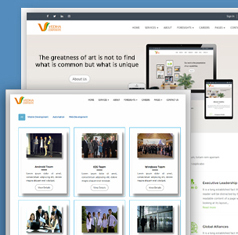 Vedha - 完美的企业前端HTML模板设计_响应式企业HTML5网站模板