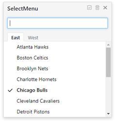 SelectMenu - 简洁、易用、多样的菜单解决方案