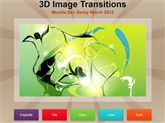 jQuery 3D图片切换动画