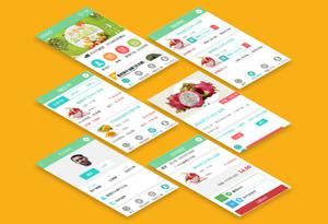 手机端HTML5水果商城网站模板手机电商模板