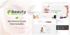 Beautyhouse一个充分响应的Bootstrap保健与美容HTML模板框架