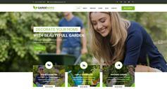 园艺和园林绿化服务HTML模板_响应式Bootstrap草坪服务模板 - Gardening
