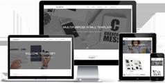 响应HTML5模板基于Bootstrap3.3版本80+HTML页面UI设计 - Classify