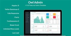 响应式Angular管理模板框架_漂亮的AngularJS后台模板源码 - OwlAdmin