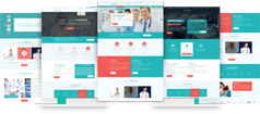 绿色Bootstrap医疗行业网站模板HTML5响应式医疗健康网站UI - Medicre