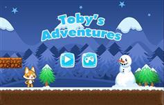 托比的冒险HTML5小游戏源码_JS通关小游戏源码