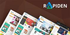 精美html5电商模板_响应式通用商城html模板_大型电子商务UI设计 - Rapiden