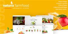HTML有机水果蔬菜商城模板_水果电商网站HTML5模板UI设计 - Naturix