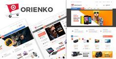 漂亮html5电商模板下载_响应式数码商城电子商务css3模板UI设计 - Orienko