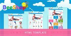 Bootstrap儿童电商模板_儿童用品商城模板HTML下载- Bee Shop