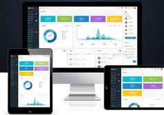 简约响应式Bootstrap管理模板_网站后台模板HTML下载 - Smartbox