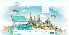 绿色精品旅游网站HTML5模板_响应式旅游门户网站模板兼容手机端